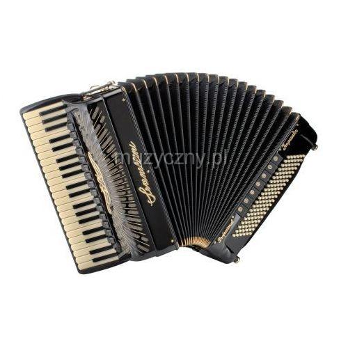 Serenellini cassotto imperator gold (2+2) 41/4/15+m 120/5/7 piccolo akordeon (czarny)