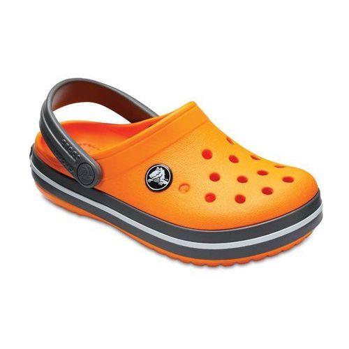 Buty crocband clog 204537 blazing orange/slate grey - pomarańczowy, Crocs