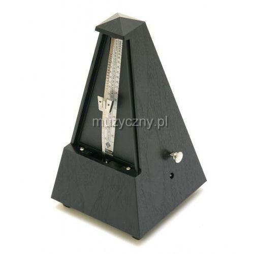 Wittner 855161 903334 piramida metronom mechaniczny z akcentem, kolor czarny