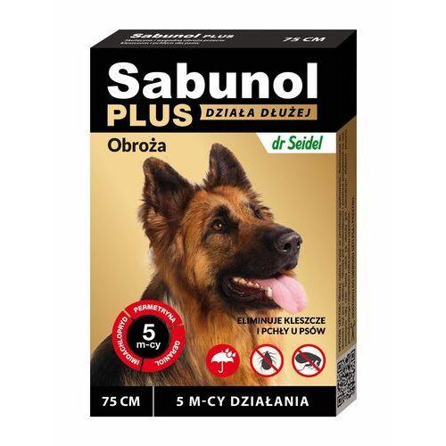 Sabunol Plus - Obroża przeciw pchłom i kleszczom dla psa 75cm