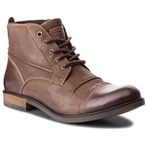 Kozaki LASOCKI FOR MEN - MI16-213543 Brązowy 2, kolor brązowy