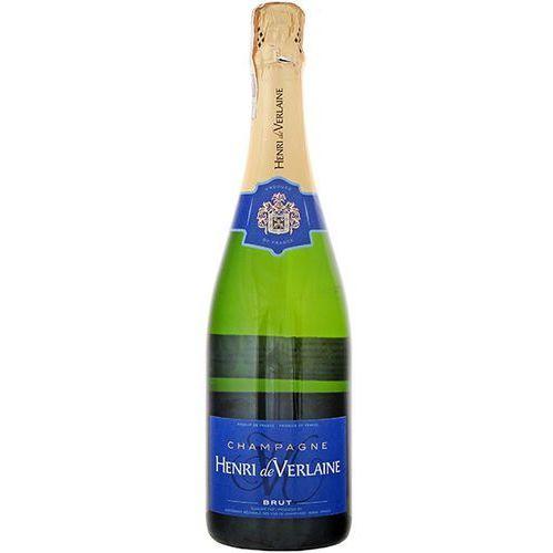 HENRI DE VERLAINE 750ml Champagne Brut Francuski szampan biały wytrawny   DARMOWA DOSTAWA OD 200 ZŁ, kup u jednego z partnerów