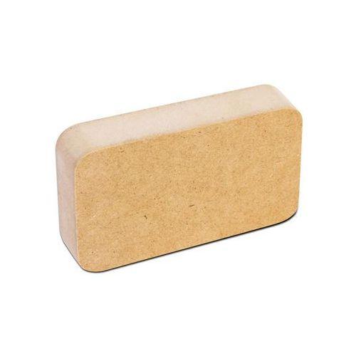 Szablon mdf 11,4 x6,3cm do nadruku na tacy złoty rant 15,5x10,5cm marki Grawerton