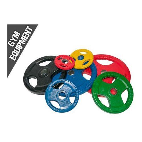 Obciążenia olimpijskie ogumowane kolorowe 50 mm - bauer fitness marki Kelton