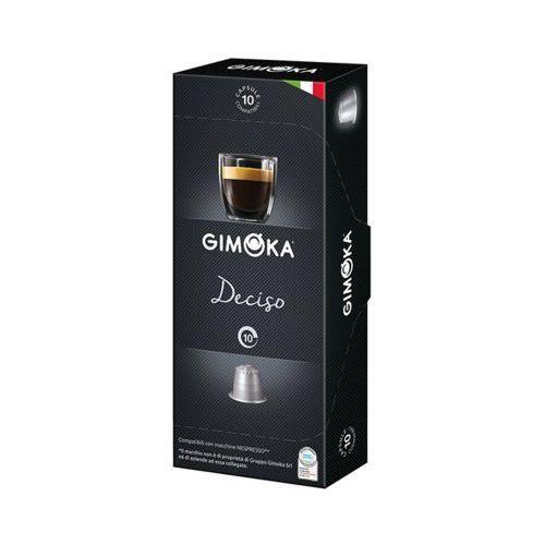 GIMOKA 10szt Deciso Nespresso Włoska kawa w kapsułkach