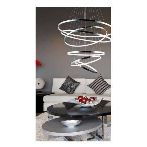 Azzardo Wheel MP57011-6A Lampa wisząca zwis 1x70,5W LED chrom + żarówka LED za 1 zł GRATIS!, MP57011-6A