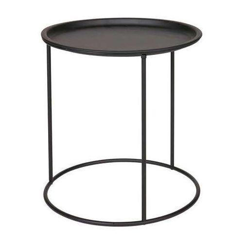 Woood Stolik kawowy metalowy okrągły ivar - różne rozmiary i kolory - wysoki czarny