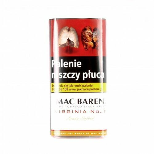 Tytoń fajkowy Mac Baren VIRGINIA No.1 / 50g
