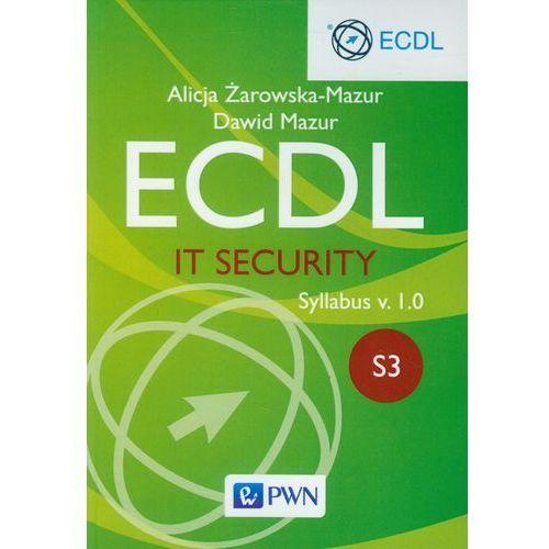 Ecdl. IT Security. Moduł S3. Syllabus v. 1.0 - Dawid Mazur (9788301178949)