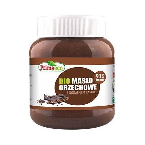 Masło Orzechowe z Karobem BIO 340 g Primaeco, 5900672305401
