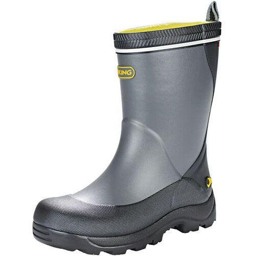 Viking Footwear Storm Kozaki Dzieci, dark grey/multi EU 33 2021 Kalosze, kolor szary
