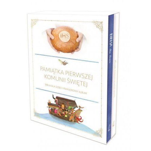 Pakiet komunijny. biblia i pamiątka komunii świętej marki Produkt polski