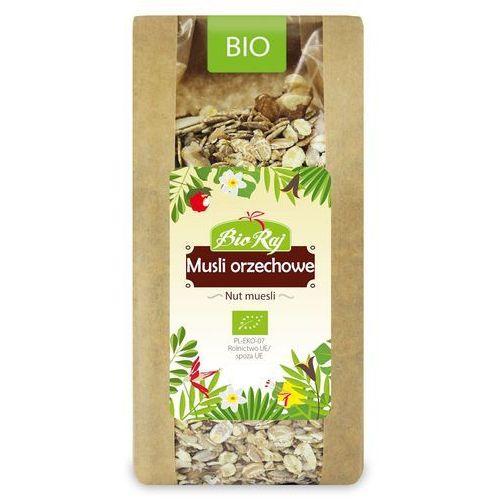 Musli Orzechowe BIO 300 g Bio Raj (5902983782858)