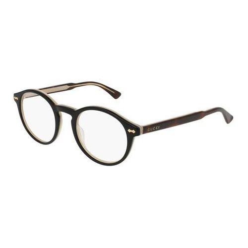 Gucci Okulary korekcyjne gg0127o 005