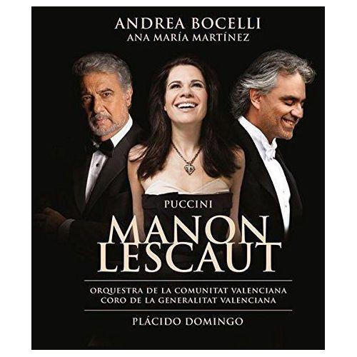PUCCINI MANON LESCAUT - Andrea Bocelli (Płyta CD), 4787490