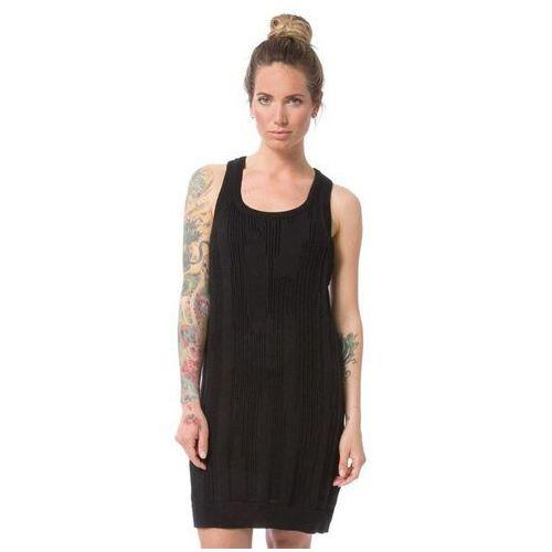 Sukienka - kvinna jet black (blk) rozmiar: l marki Nikita