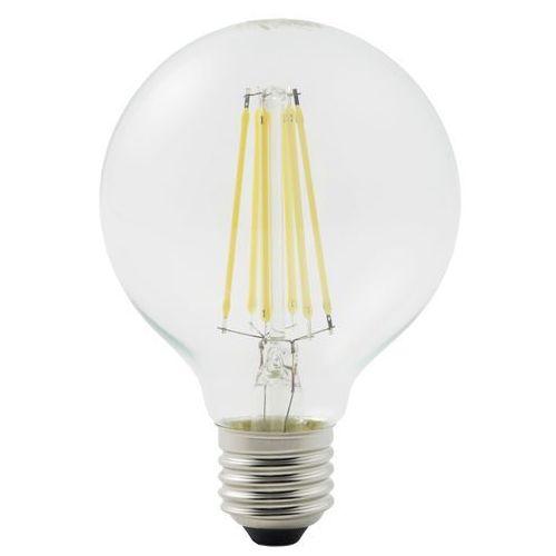 Żarówka dekoracyjna LED Diall G80 E27 6,5 W 806 lm przezroczysta barwa ciepła, TG81C11