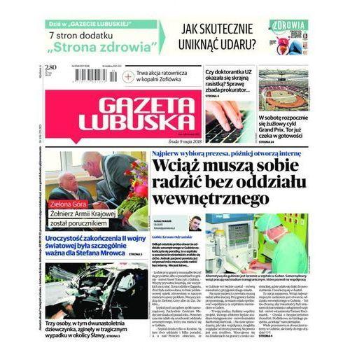 Gazeta Lubuska - B Żary, Żagań, Nowa Sól, Wschowa, Głogów, Polkowice 106/2018, Polska Press