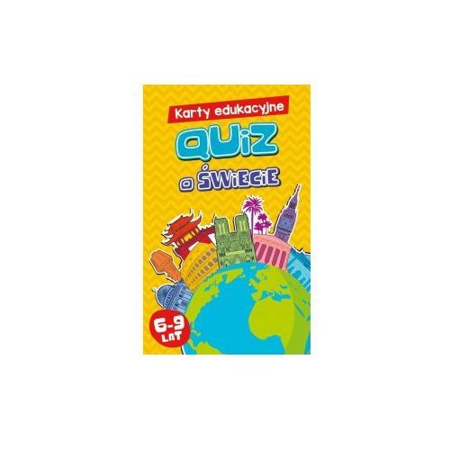 Karty edukacyjne. quiz o świecie. 6-9 lat marki Edgard