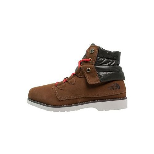 The North Face BALLARD Śniegowce utility brown/shiny forest/night green