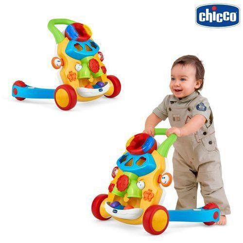 PCHACZ Wielofunkcyjna zabawka chodzik Żółty, marki Chicco do zakupu w puppo.pl