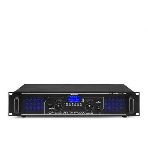 fpl1000 wzmacniacz cyfrowy 2 x 500 w bluetooth odtwarzacz multimedialny port usb slot sd marki Fenton