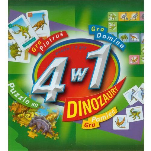 4 w 1 Dinozaury (5900511342499)