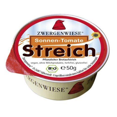Pasta słonecznikowa z suszonymi pomidorami bezglutenowa bio 50 g - marki Zwergenwiese