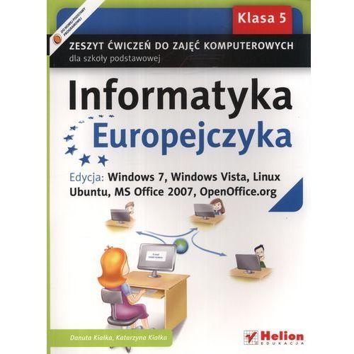 Informatyka Europejczyka 5 Zeszyt Ćwiczeń Do Zajęć Komputerowych (9788324628216)