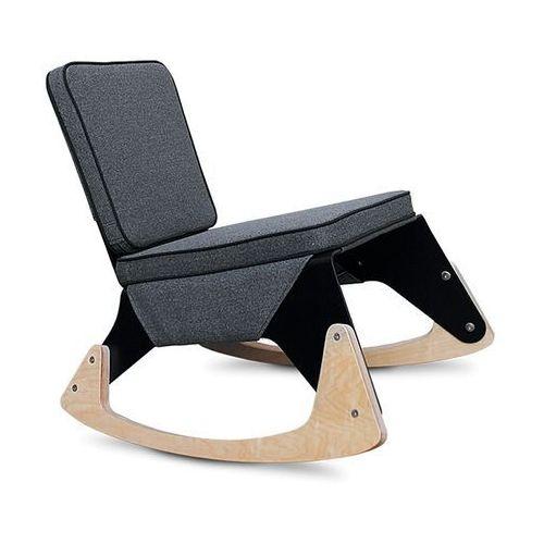 Fotel LRG biały (ekoskóra) biały mat, marki Melounge do zakupu w Designersko.pl
