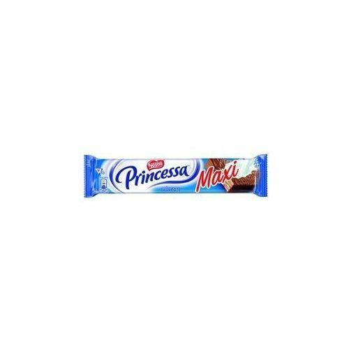 Wafel Princessa longa mleczna przekładany kremem kakaowym oblany mleczną czekoladą 49 g (5900862019286)