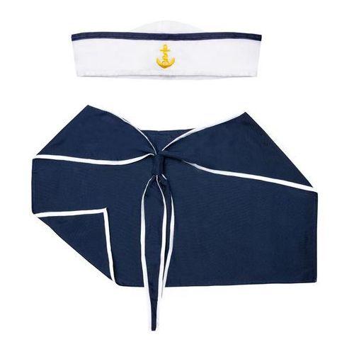 Zestaw marynarski: kołnierz i czapka (5902557255412)