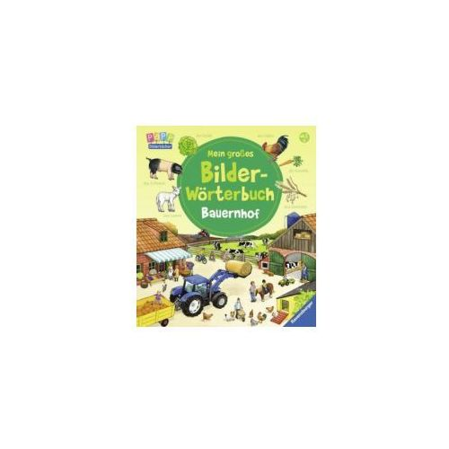 Mein großes Bilder-Wörterbuch: Bauernhof (9783473435210)