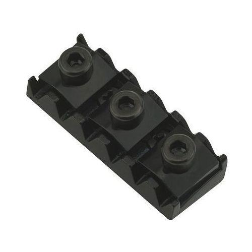 Floyd Rose Nut R10 43,0 mm, Radius 15, blokada strun, czarna