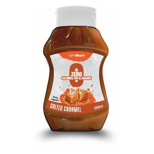 Gymbeam syrop bez kalorii o smaku słonego karmelu 350 ml