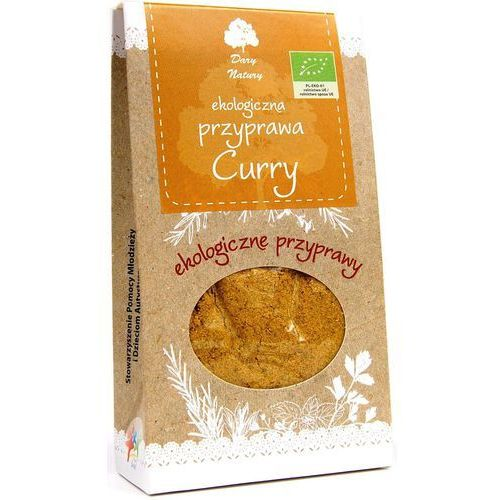 Dary natury Curry eko 60g - (5902768527599)