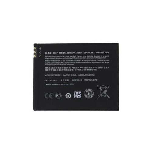 Microsoft Nokia Lumia 950 XL / BV-T4D 3340mAh 12.6Wh Li-Ion 3.85V (oryginalny)