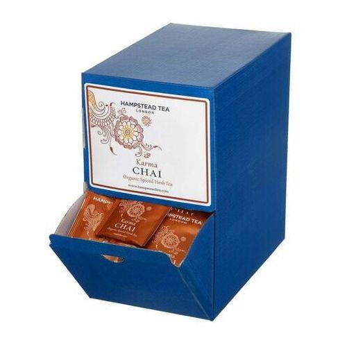Hampstead tea london herbata ziołowa bio chai mieszanka orientalnych przypraw, 250 szt.