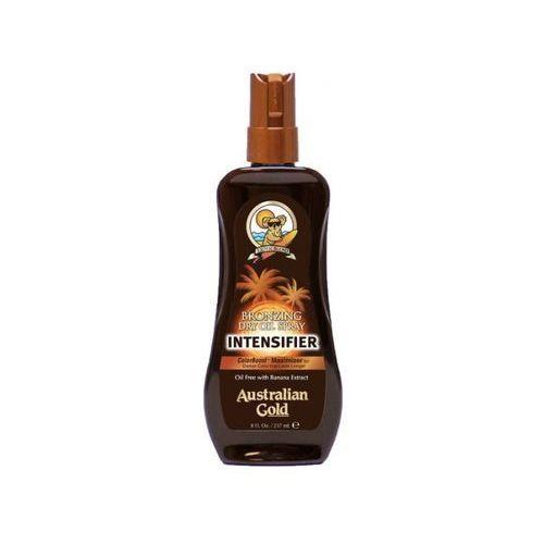 Australian gold bronzing dry oil intensifier spray | suchy olejek do opalania - 237ml