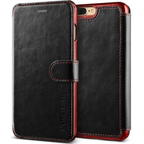 Etui VRS Design Layered Dandy iPhone 8/7 Plus Black, kolor czarny