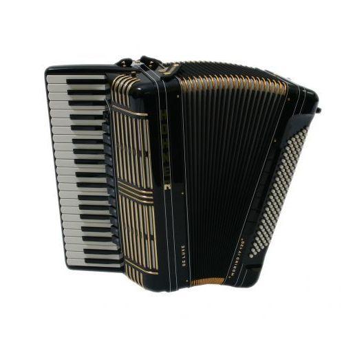 Hohner morino+ iv 120 de luxe akordeon (czarny)