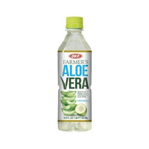 500ml farmers aloe vera napój aloesowy z cząstkami kokosa marki Okf
