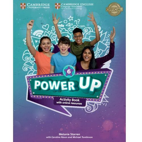 Power Up Level 6 Activity Book with Online Resources and Home Booklet, oprawa miękka