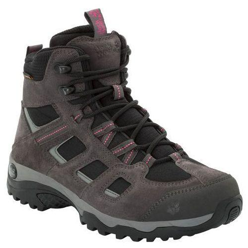 Buty trekkingowe damskie VOJO HIKE 2 TEXAPORE MID W dark steel / black - 6 (4060477331614)