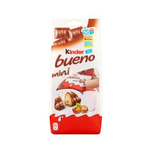 KINDER BUENO 108g Mini Baton z orzechowym nadzieniem w kruchym waflu oblanym mleczną czekoladą