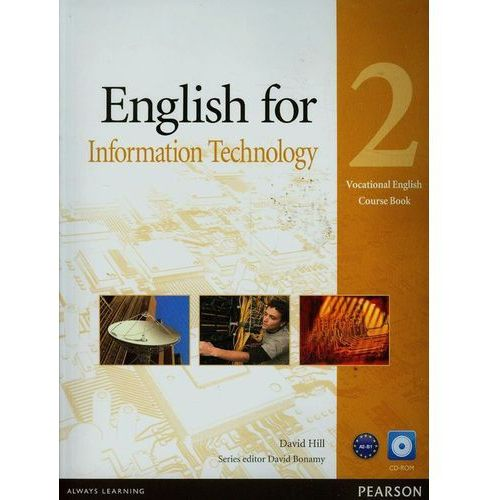 English for IT 2 SB+CD LONGMAN - Maja Olejniczak, David Bonamy (80 str.)