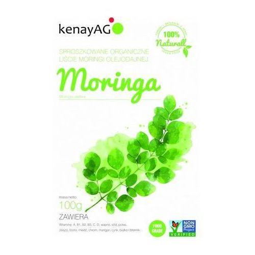 Kenay ag Moringa sproszkowane organiczne liście 100g