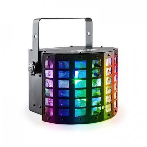 beamZ Radical 2-w-1 Projektor LED Derby & Laser 20 W diody LED RGBAWP DMX (8715693285277)