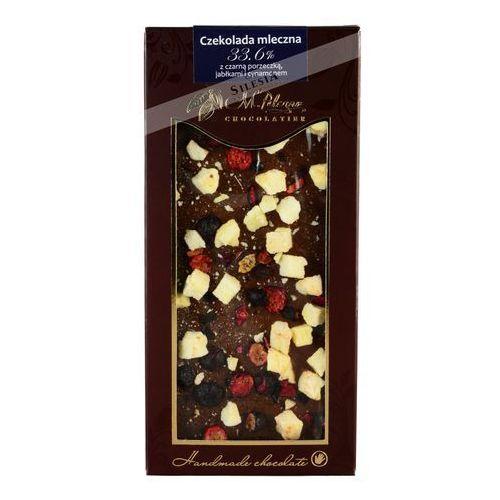 M. pelczar czekolada mleczna z czarną porzeczką, jabłkami i cynamonem marki M. pelczar chocolatier