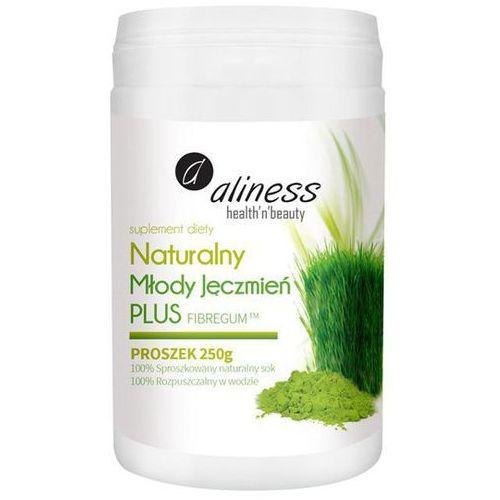Medicaline Naturalny młody jęczmień plus + fibregum™ (błonnik akacjowy) w proszku 250g